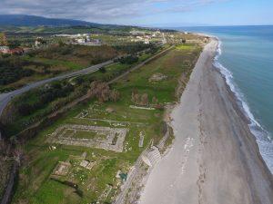Parco archeologico dell'Antica Kaulon - Veduta aerea